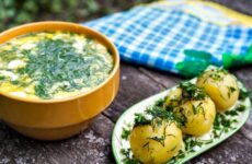 Окрошка с картошкой — 7 домашних рецептов с фото