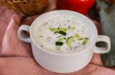 Окрошка на тане — 7 рецептов холодного супа