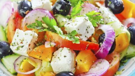Салат с сыром фетакса — 7 легких свежих рецептов