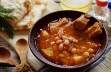 Суп из ребрышек — 8 домашних сытных рецептов