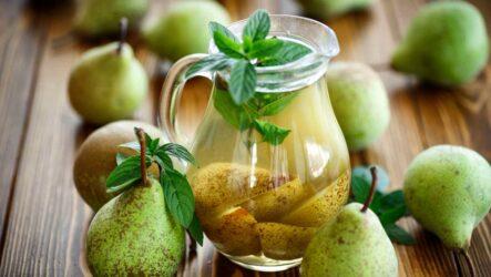 Грушевый компот — 8 самых вкусных рецептов