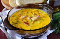 Копченый сырный суп — 7 рецептов сытного обеда