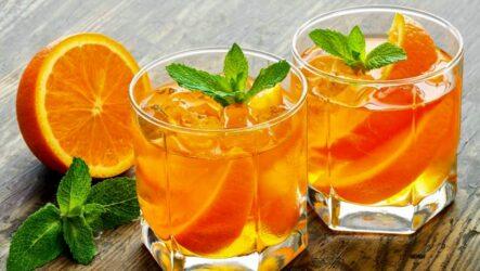 Лимонад с апельсином и мятой — 7 освежающих рецептов