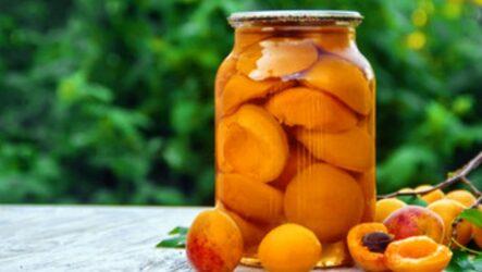 Простой компот из абрикосов — 6 рецептов летнего напитка