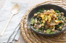 Салат с фасолью и грибами — 7 простых и сытных рецептов