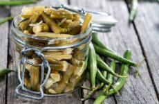 Стручковая фасоль на зиму — 6 рецептов заготовки