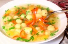 Суп с сырными шариками — 6 оригинальных рецептов к обеду