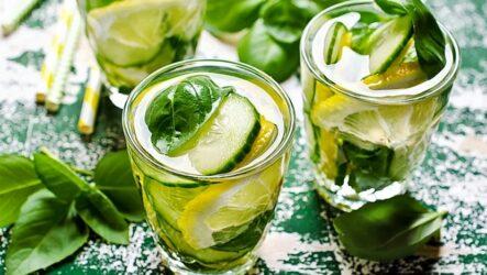 Огуречный лимонад — 7 освежающих рецептов