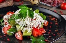 Шопский салат — 6 рецептов восточно-европейского блюда