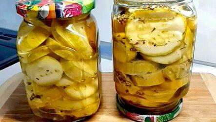 Хрустящие кабачки на зиму — 6 рецептов без стерилизации