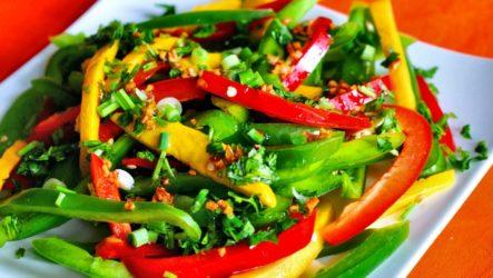 Болгарский овощной салат — 8 классных рецептов